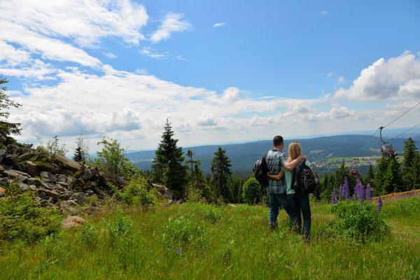 Wandern am Ochsenkopf in einer herrlichen Natur